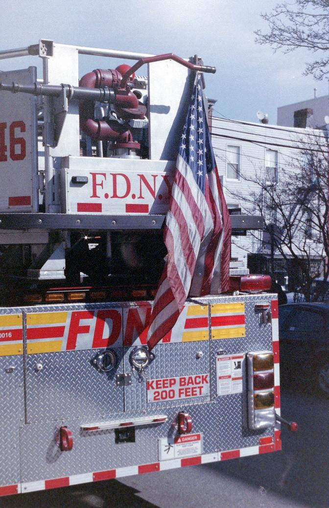 bedford avenue nyfd new york city photo pentax analogue photography